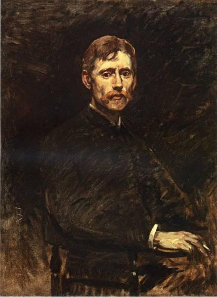 Frank Portrait of Emil Carlson
